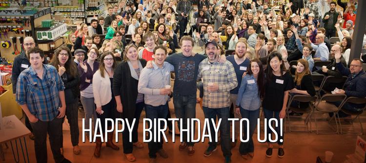 Happy Birthday CreativeMornings/Austin