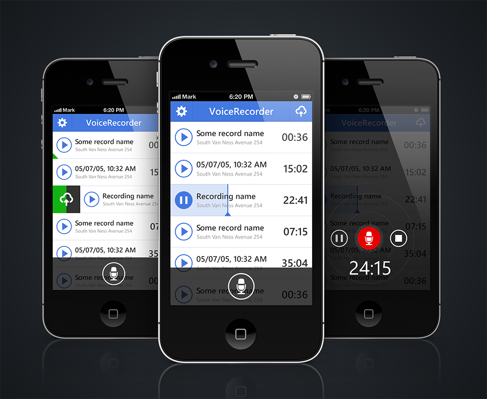iphone application for booking leisure app