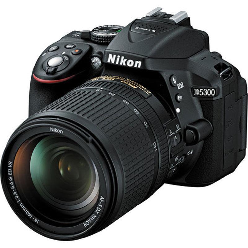 Save $304 on Nikon D5300 24.2 MP CMOS Digital SLR Camera / Nikon 18-140mm VR Lens Brand New
