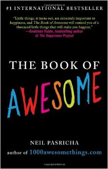 The book of awesome by Neil Pashricha book cover