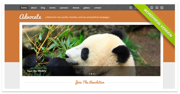 Advocate - A Nonprofit Responsive HTML Template