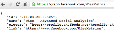 Facebook graph api