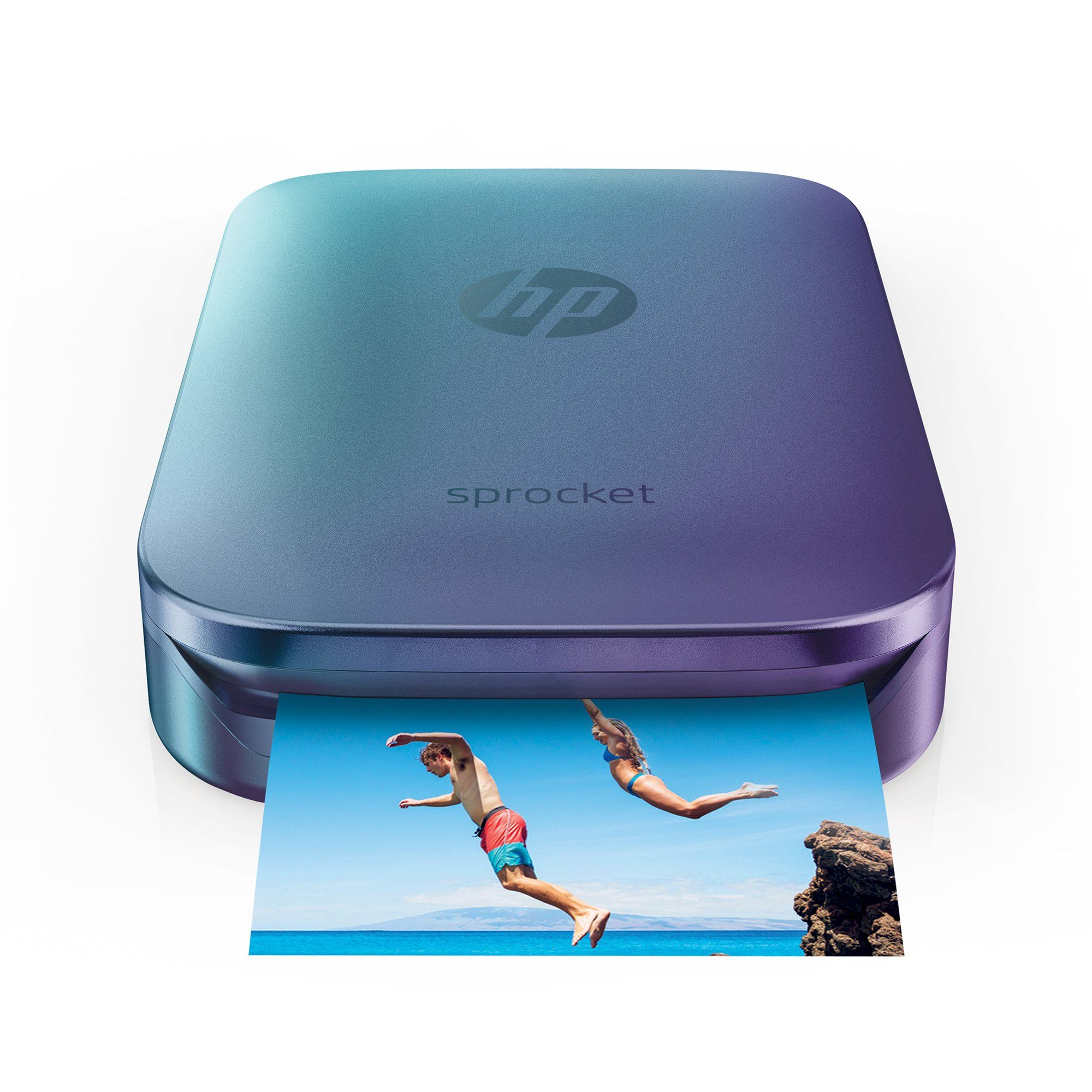 PRIME DAY DEAL: Save $40 on HP Blue Sprocket Portable Photo Printer