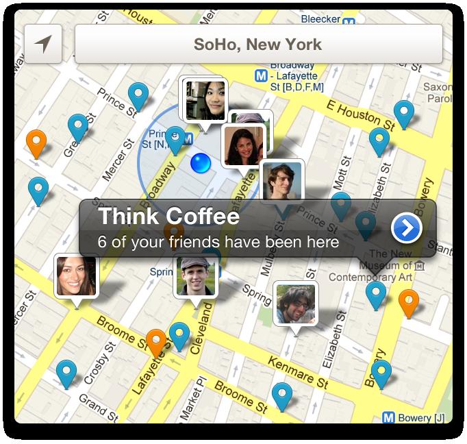 New Foursquare (4sq) Maps
