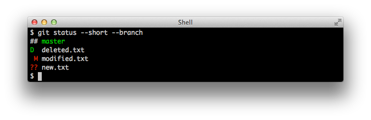 git status --short --branch