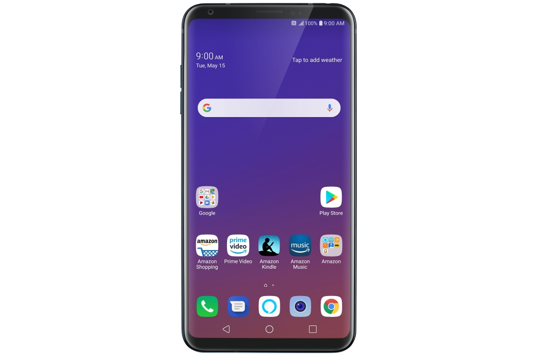 PRIME DAY DEAL: Save $300 on LG V35 ThinQ – 64 GB – Unlocked (AT&T/T-Mobile/Verizon) – Aurora Black - Prime Exclusive Phone.