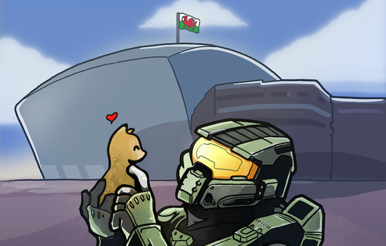 Halo, The Internets, Cats