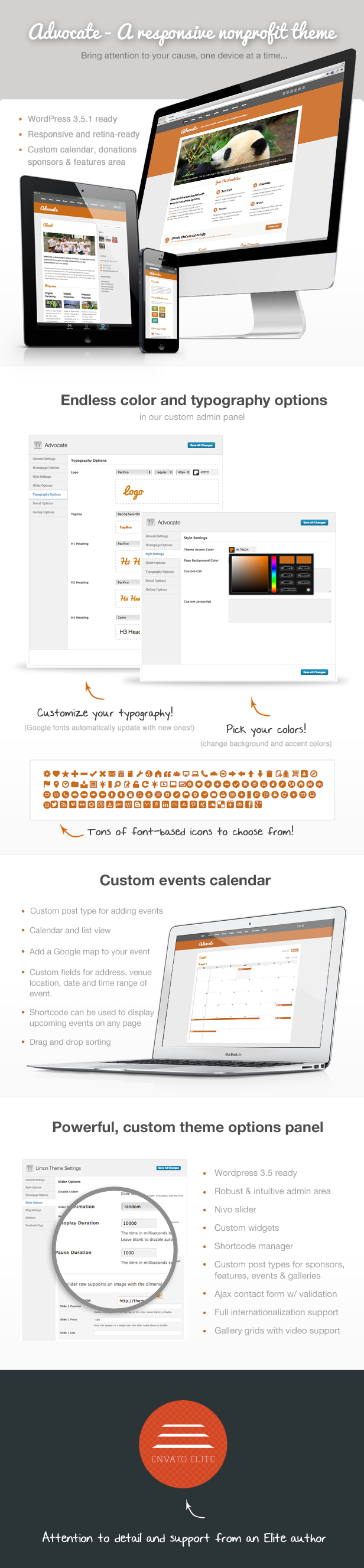 Advocate - A Nonprofit WordPress Theme - 1
