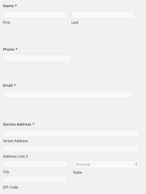 basic form info