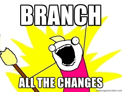 Branch All The Things