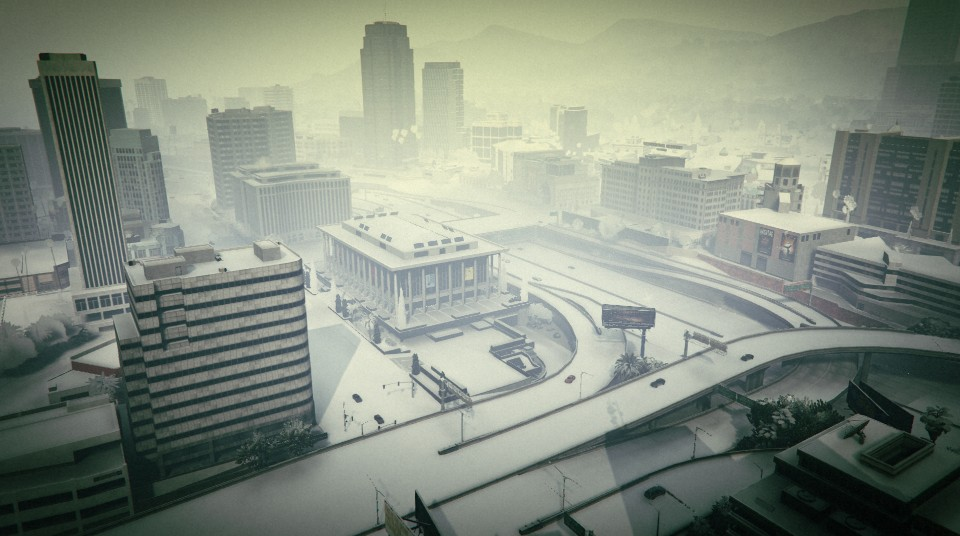 Snow in Los Santos